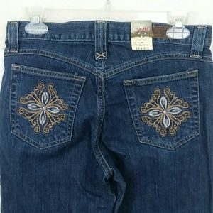 Rockies Jeans Size 6 14 Regular Relaxed Stretch